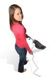 pretty woman vacuuming poster