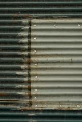 old rustic zinc