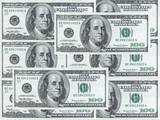 hundred dollar notes design poster