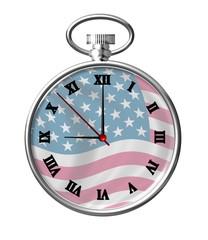 usa clock