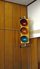 traffic light-indoor