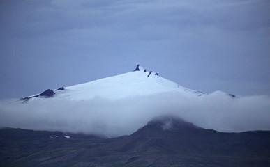 peak of snaefellsjokull