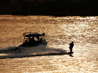 last run of the day (wakeboarder)