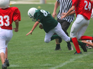got'm by the heel! (american football)
