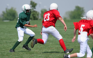 in the open field (american football)