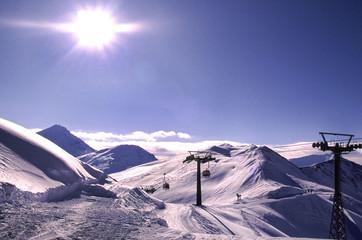 ski pistes