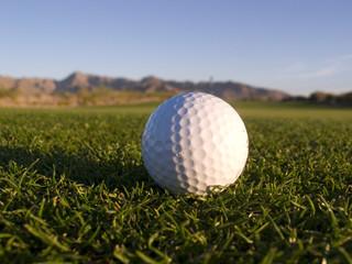 golf ball on phoenix golf course