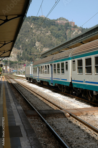 train station in taormina, sicily - 2707933