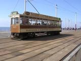 old blackpool tram,