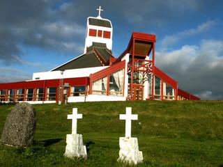 chiesa e croci