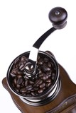 coffee grinder close up poster
