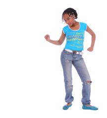 african american girl dancing 2