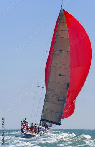 Papiers peints Voile full sail power