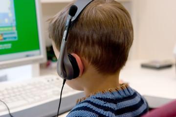 computer geek child