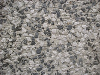grey and white stone chips