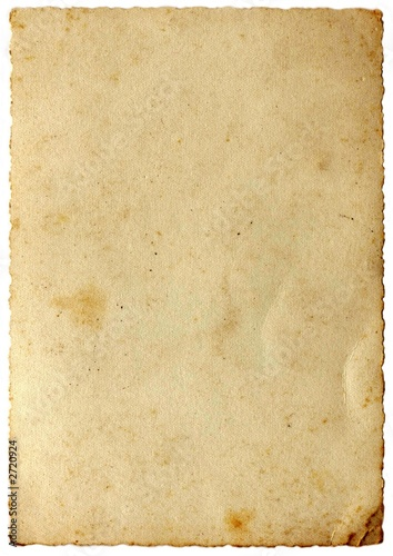 aged paper - 2720924