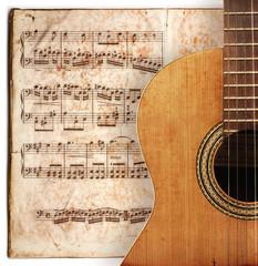 old guitard