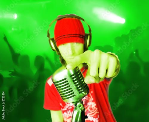 Leinwandbild Motiv disco dj-3