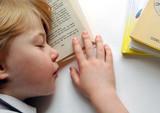 little reader sleeping poster