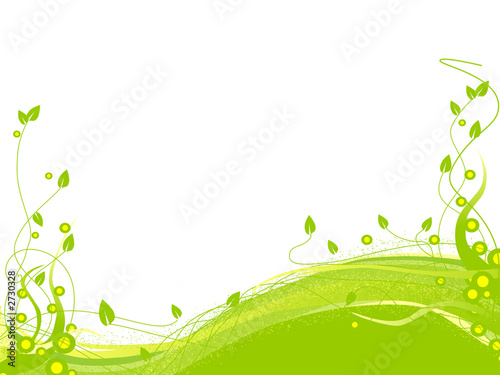 floral background element for design