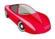 Постер, плакат: car corvette