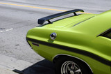green muscle car