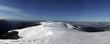 on the top of mountain range