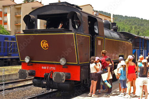 old train in anduze