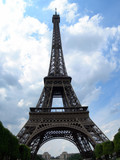 eiffel tower day view poster