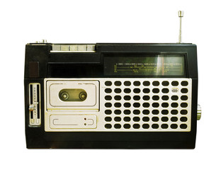 retro radio (tape recorder)