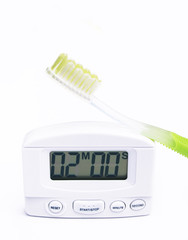 toothbrush and timer