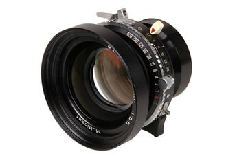 view camera lens