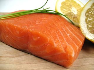 salmon close-up