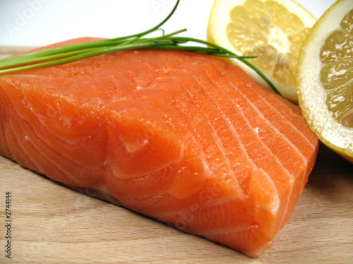 salmon close-up