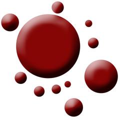eclaboussure de sang