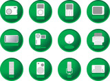 greenberry buttons gadgets poster