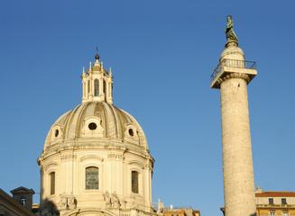 roman forums, colonna traiana
