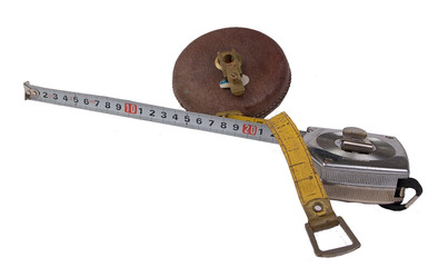 old and new tape measure