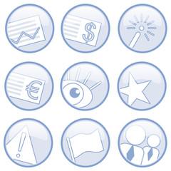 icon symbol modern geschäft