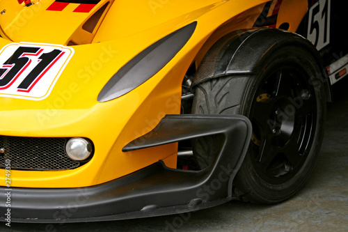 race car front tyre