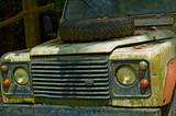 safari jeep poster
