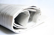 rolled newspaper 1