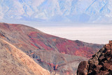 the spectacular contrast of color at death valley national park poster