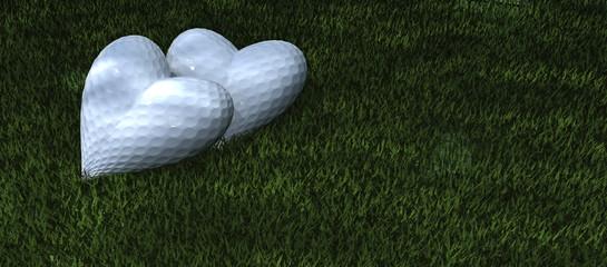 love golf on green