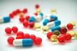 various capsules and vitamins