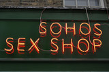 soho sex shop poster