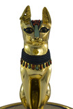 egyptian sacred bast cat poster