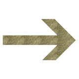 arrow pointing right poster