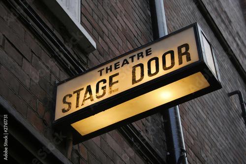 stage door - 2761731