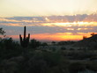 sunrise over phoenix arizona